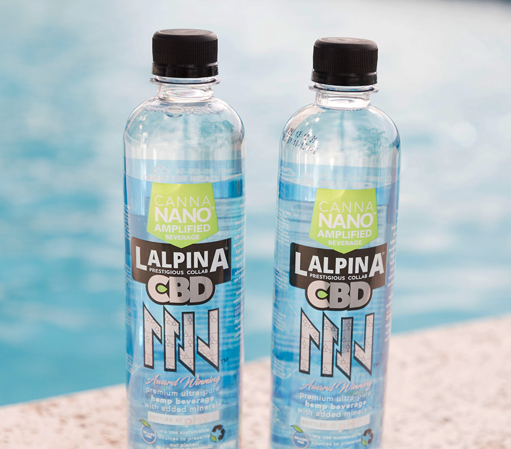 SingleSeed Lalpina CBD Water