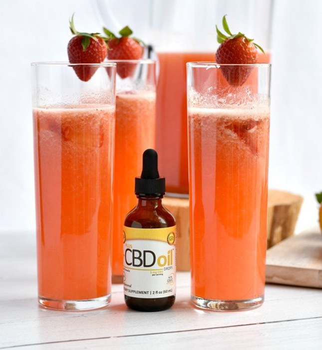 Strawberry CBD Lemonade