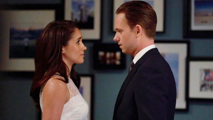 Meghan Markle and Patrick J. Adams