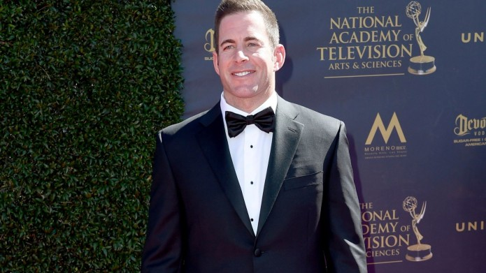 Tarek El Moussa arrives at the