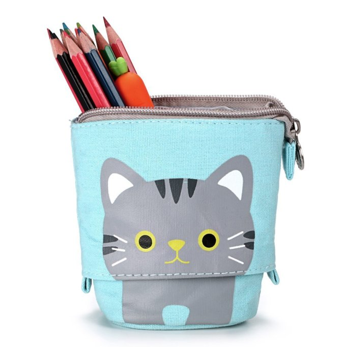 Unique School Supplies: Telescoping Pencil Bag