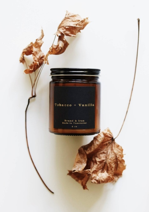 Tobacco & Vanilla Candle.