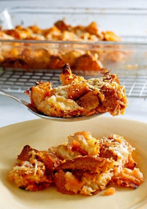Tomato Bread Pudding.