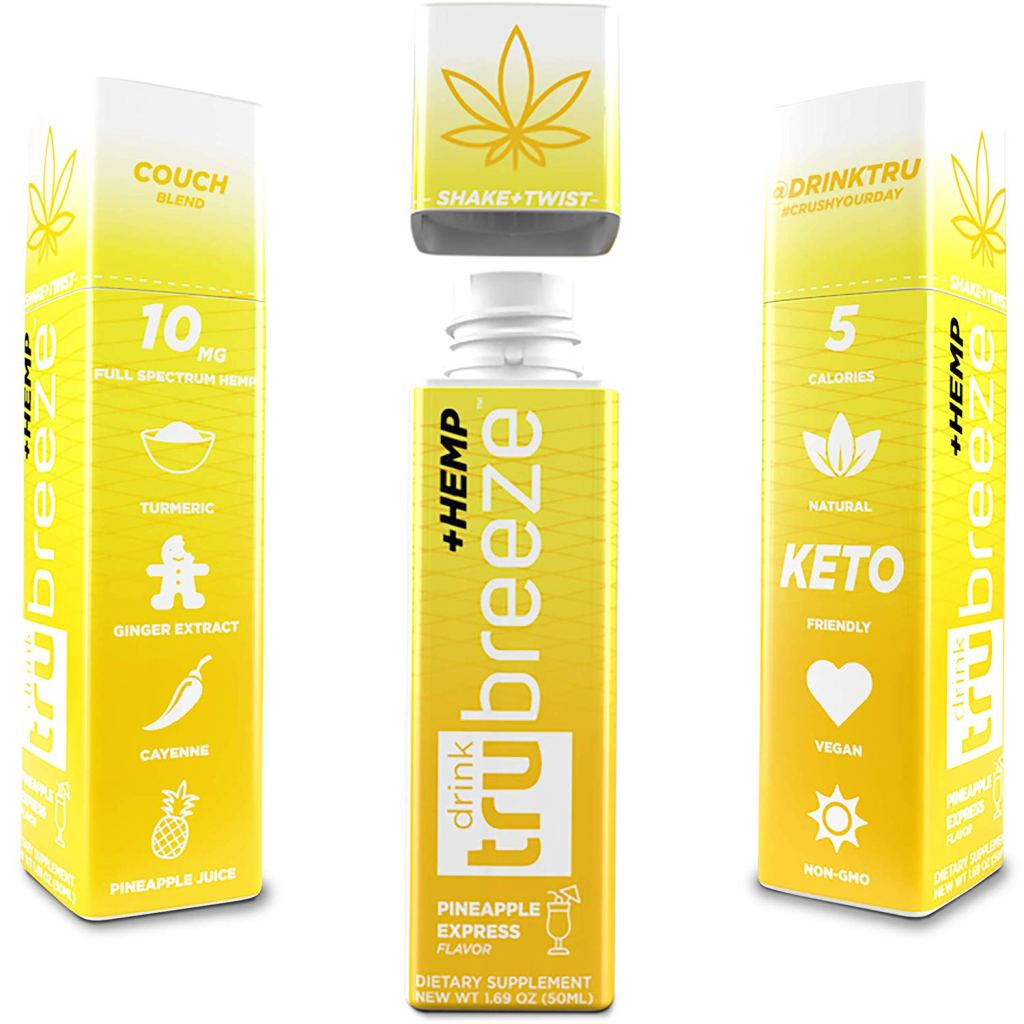 True Breeze Pineapple Express Hemp Shots