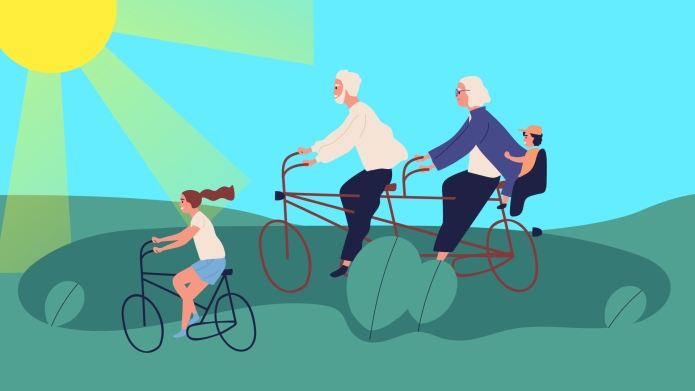 Kids Travel with Grandparents