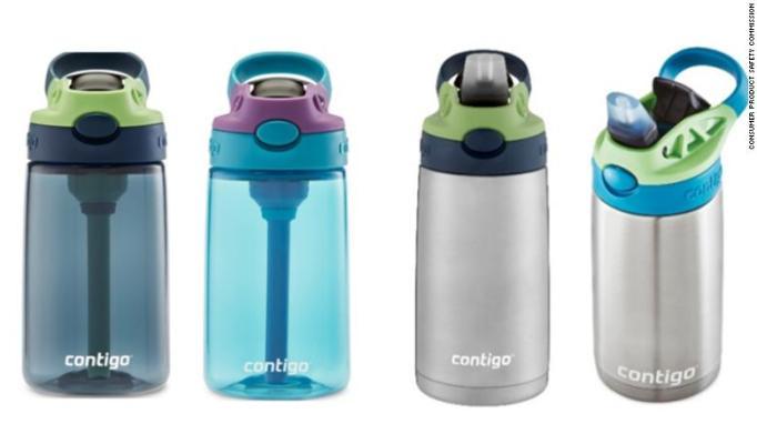 2019 Kid Product Recalls: Contigo Kids' Water Bottles