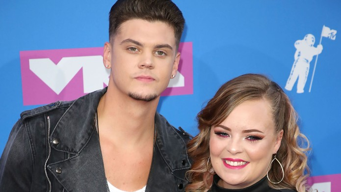 Tyler Baltierra and Catelynn LowellMTV Video