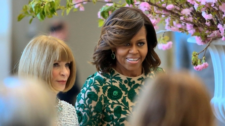 Michelle Obama and Anna Wintour