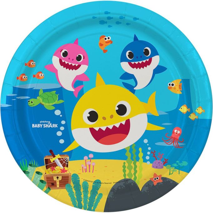'Baby Shark' lunch plates