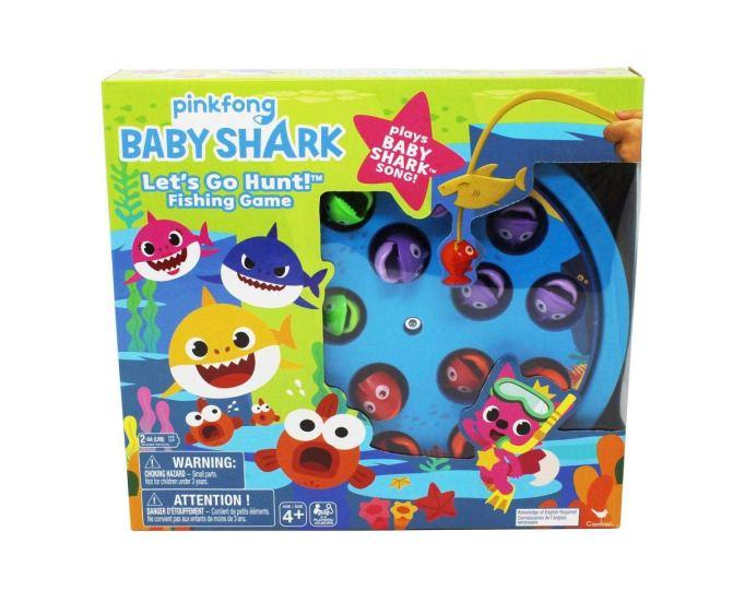 'Baby Shark' fishing game