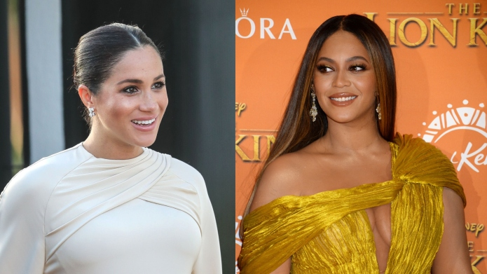 Why Beyoncé Was Nervous to Meet Meghan Markle at the Lion King Premiere