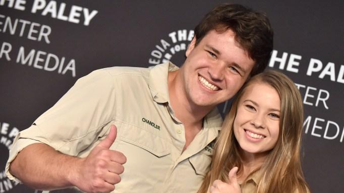 Bindi Irwin & Chandler Powell