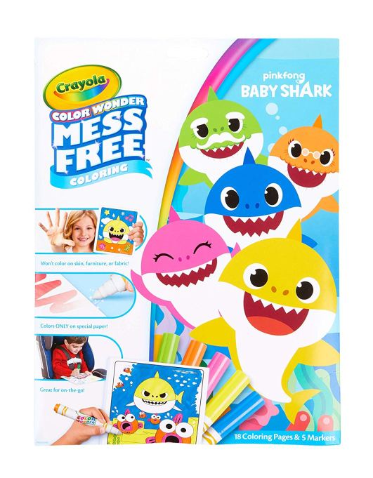 Crayola 'Baby Shark' coloring pages