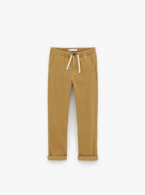 Stylish Back to School Clothes: Elastic Jogging Pants