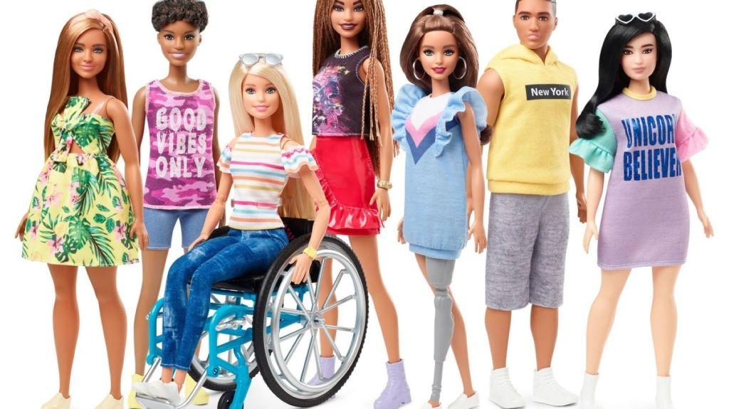 Mattel Fashionista line