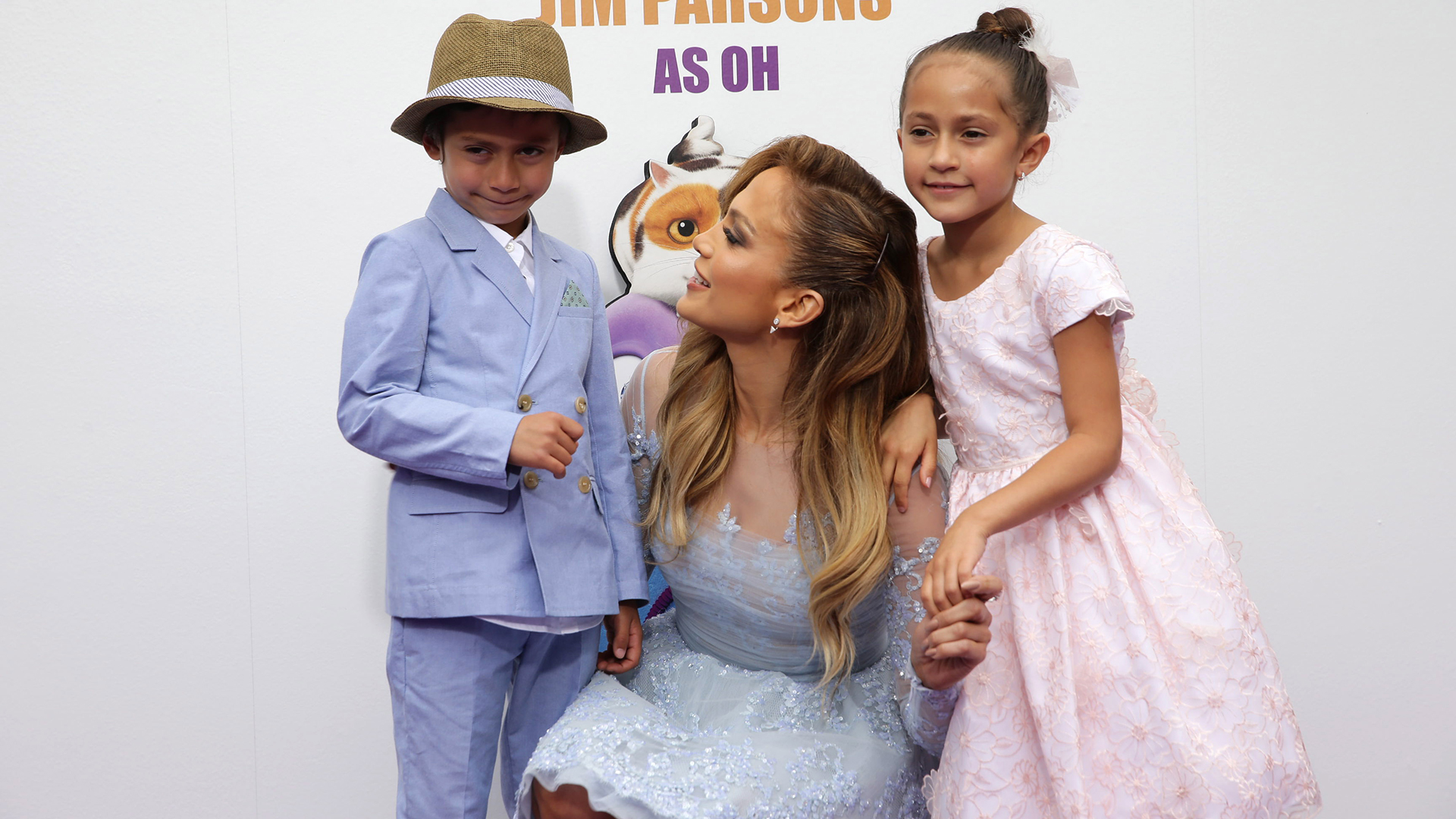 Jennifer Lopez S Twins Max Emme Performed At Her 50th Birthday Party Sheknows