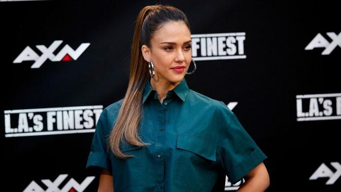 """Jessica Alba at """"L.A.'s Finest"""" Premiere"""