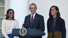 Barack Obama 'Could Not Be Prouder' That Malia and Sasha Protested Against Police Brutality
