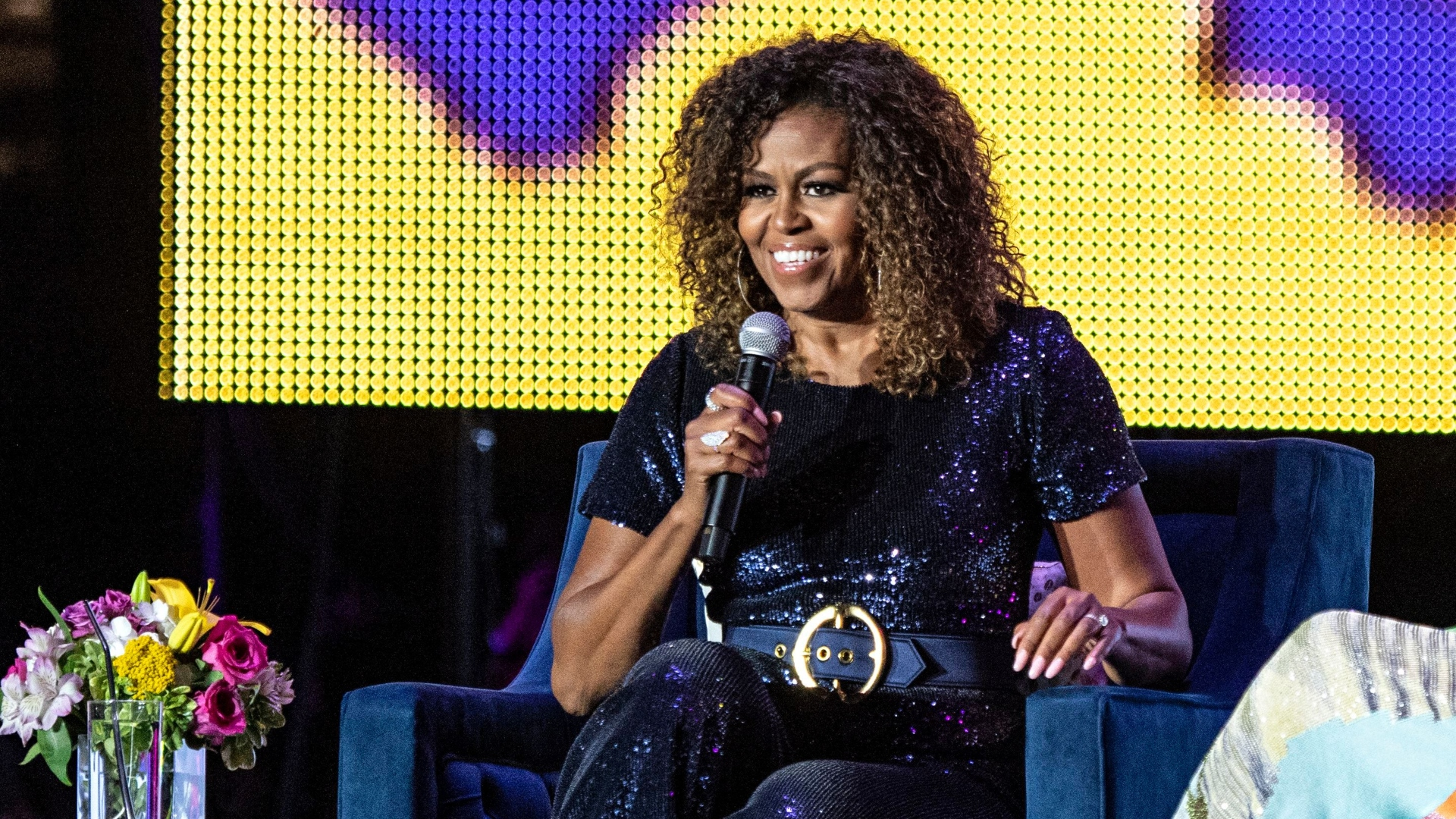 Image result for michelle obama natural hair