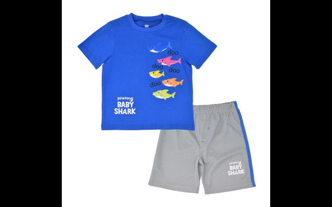 'Baby Shark' 2-piece boys set