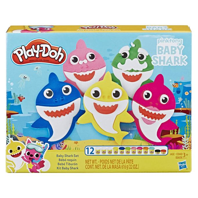 "Play-Doh Pinkfong ""Baby Shark"" set"