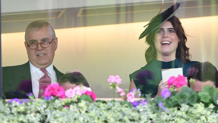 Prince Andrew and Princess Eugenie Royal