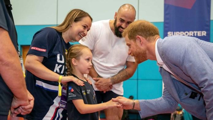 Prince Harry Looks at Princess Diana