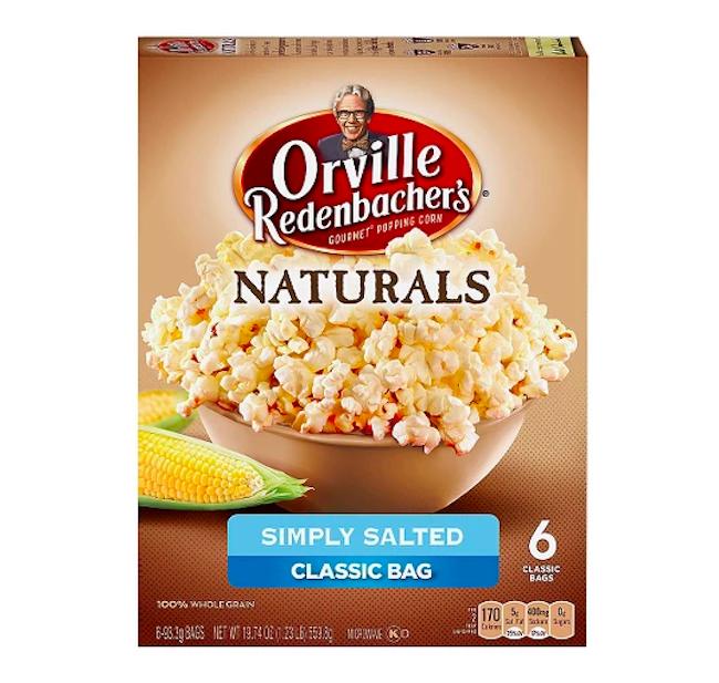 Orville Redenbacher natural popcorn