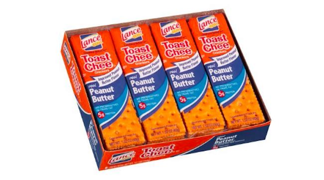 lances peanut butter crackers