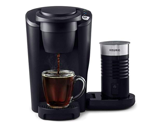 keurig k-cup coffee and latte maker