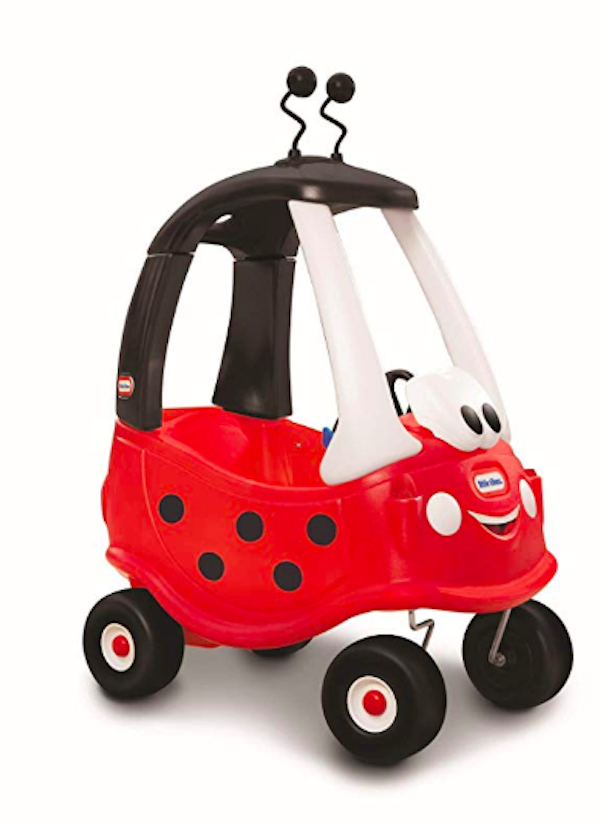 little tikes red lady bug car