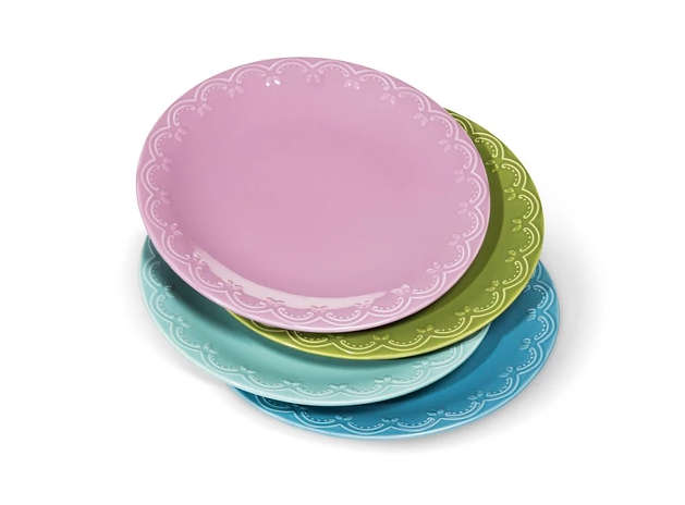 Camille Stoneware Dinner Plates