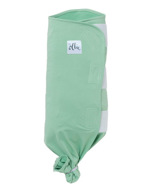 ollie swaddle green