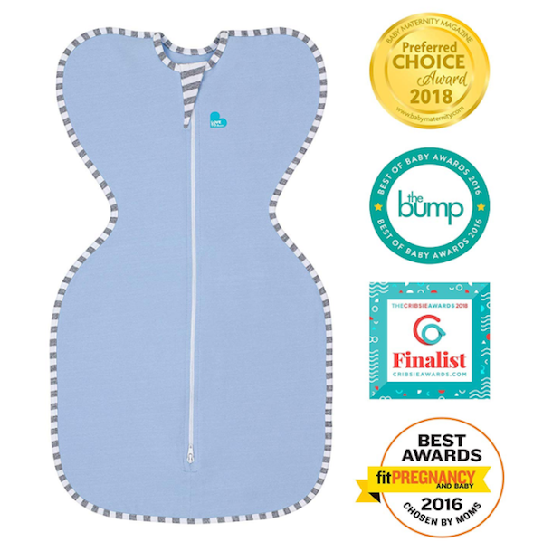 love to dream blue swaddle up