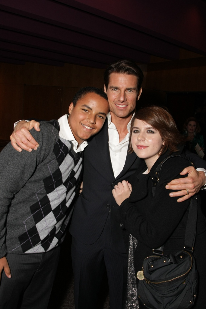 Tom Cruise, Connor Cruise, Isabella Cruise