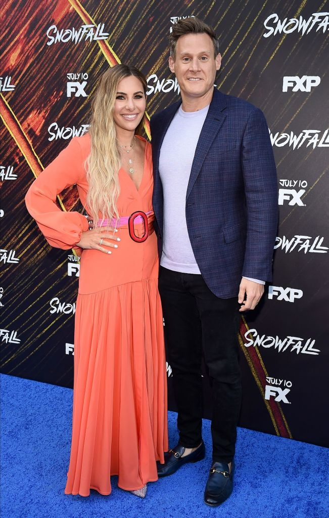 Tracey Kurland, Trevor Engelson 'Snowfall' TV series season three premiere, Los Angeles, USA - 08 Jul 2019