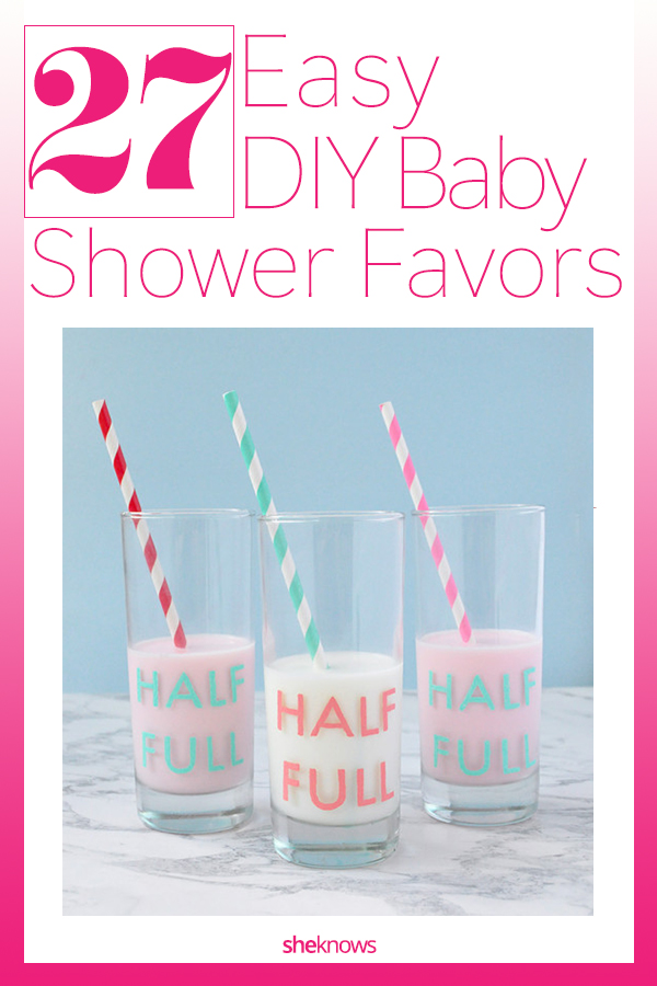 Adorable Homemade Baby Shower Favors Best Diys