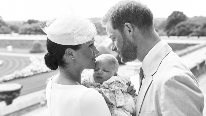 Meghan Markle and Prince Harry at