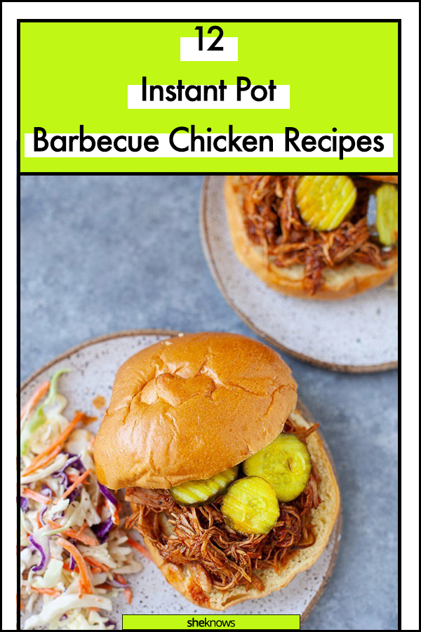 Instant Pot Barbecue Chicken