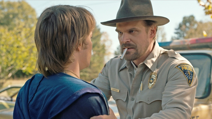 Is Stranger Things' Hopper Dead or Alive? David Harbour FaceTimes the Show's Creators to Find Out His Fate