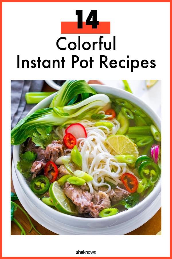 Colorful Instant Pot Recipes