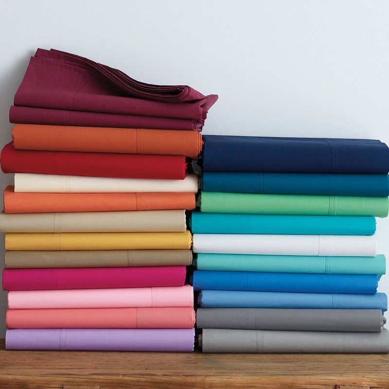 Cute Twin XL Bedding: The Company Store Classic Percale Collection
