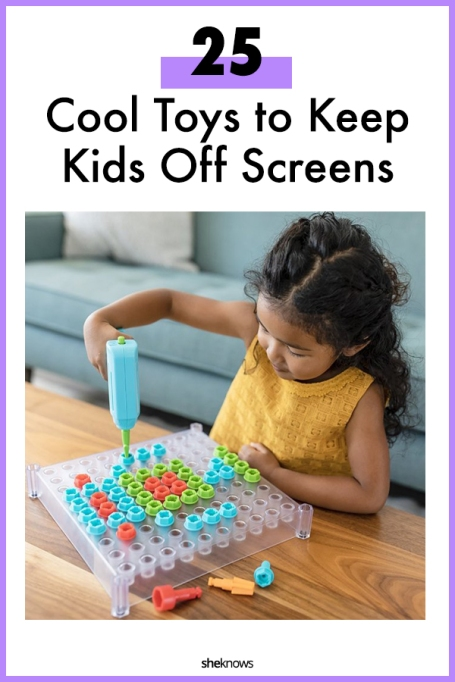 Cool Toys to Keep Kids Off Screens