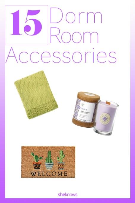 Cozy Dorm Room Accessories