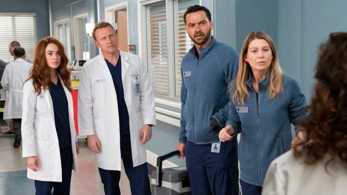 'Grey's Anatomy' scene.