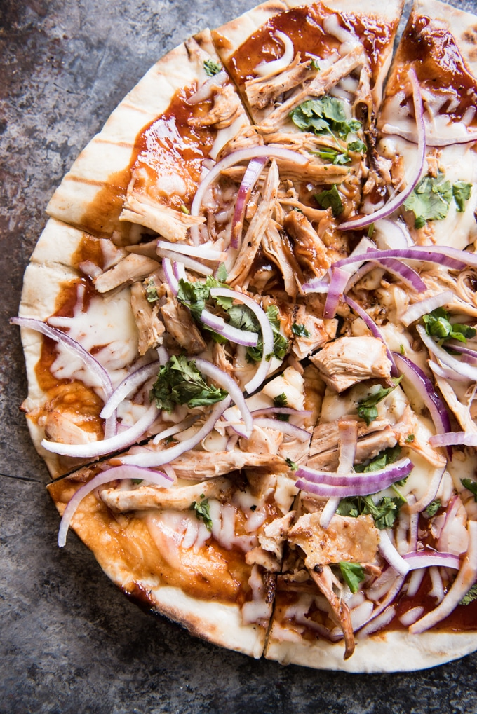 Grilled Pizza Recipes: Grilled BBQ Chicken Pizza