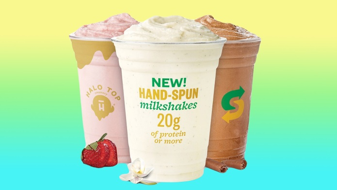 Subway Is Selling Halo Top Milkshakes,