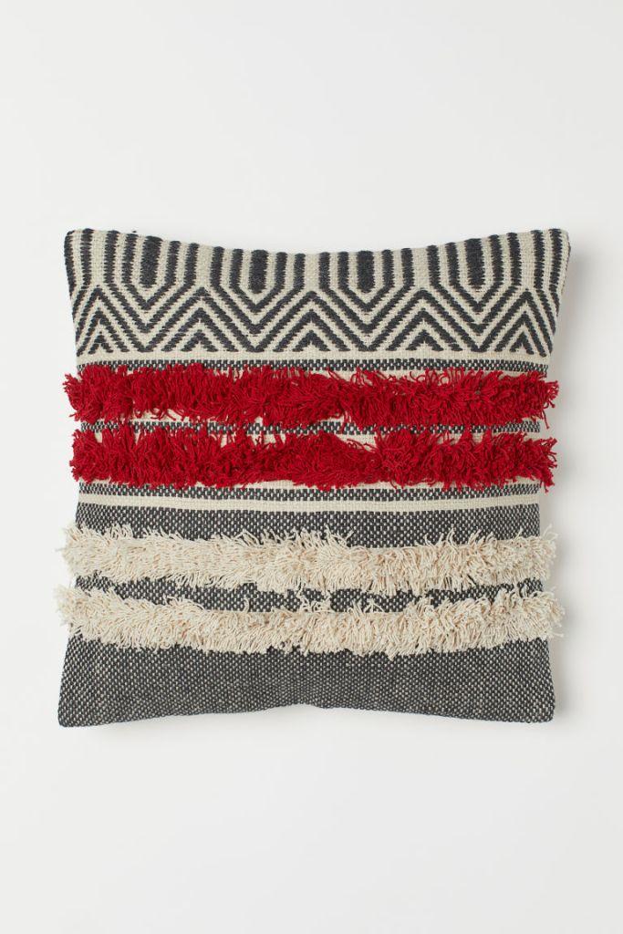 h&m jacquard cushion cover