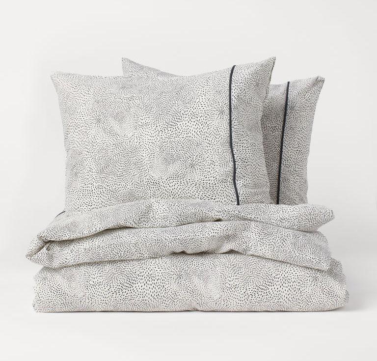 h&m patterned duvet cover