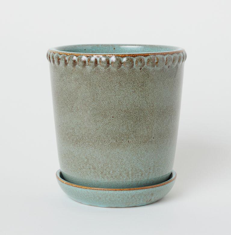 hm stoneware plant pot